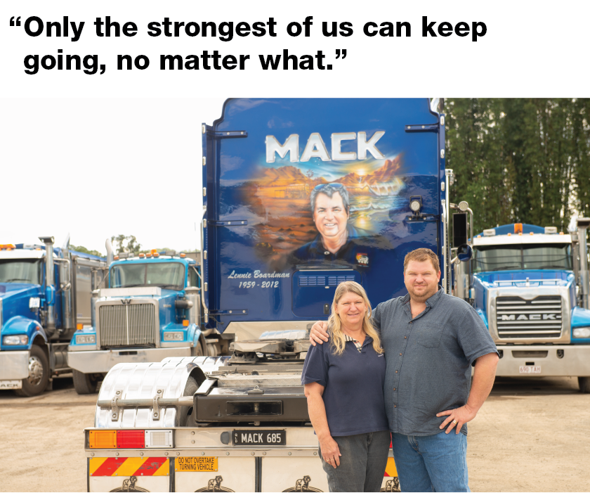Tranzmile's August Truck of the Month - Broadman's Mack